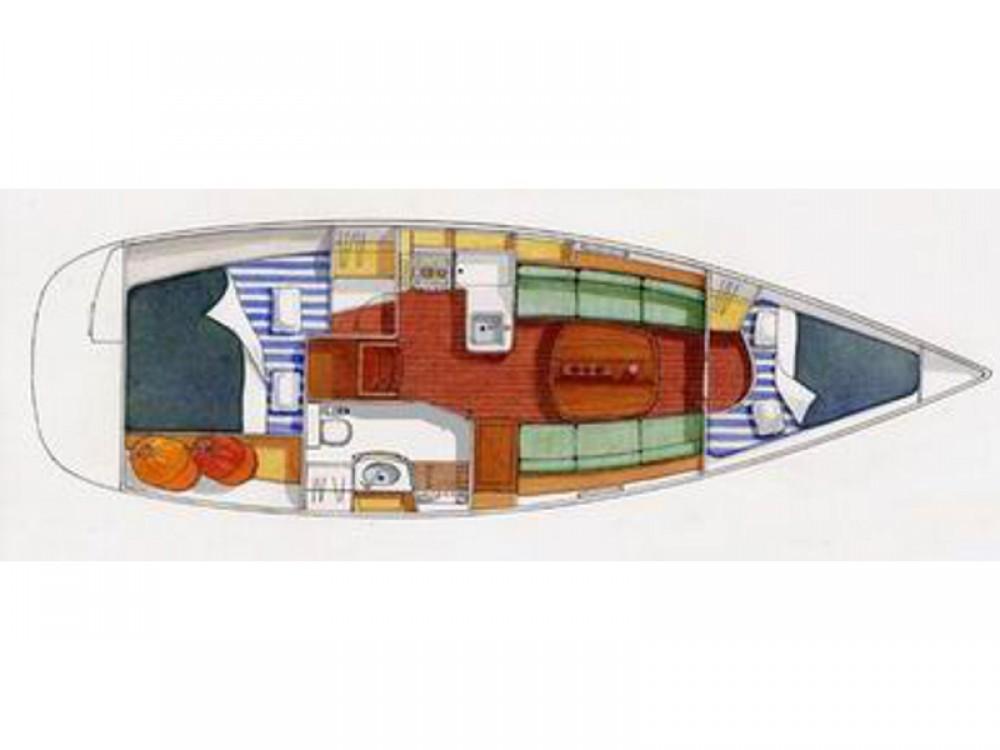 Sailboat for rent Castiglione della Pescaia at the best price