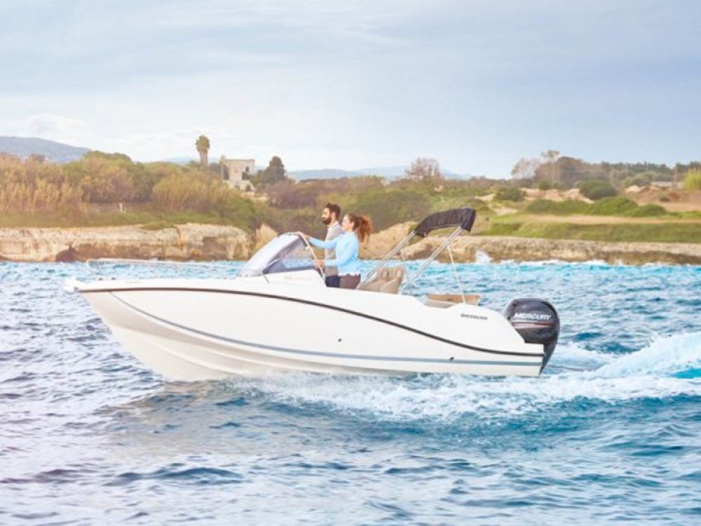 Rental Motor boat in Maó - Quicksilver Quicksilver 605 Sundeck