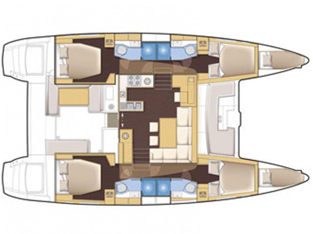 Rental Catamaran in Marina de Alimos - Lagoon Lagoon 450
