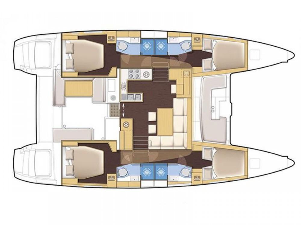 Rental yacht Marina de Alimos - Lagoon Lagoon 450 on SamBoat