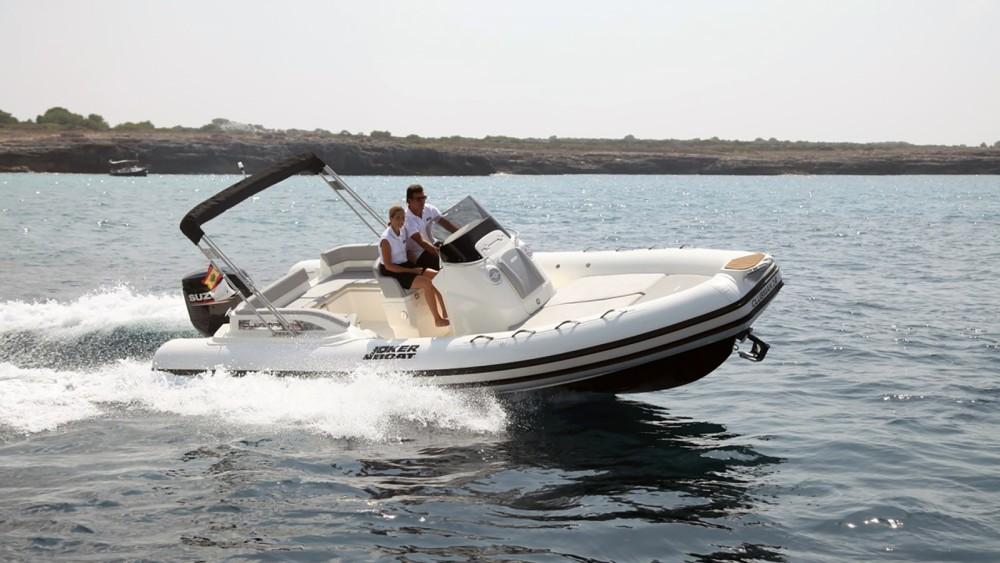Location Semi-rigide à Ibiza - Joker Boat Clubman 24
