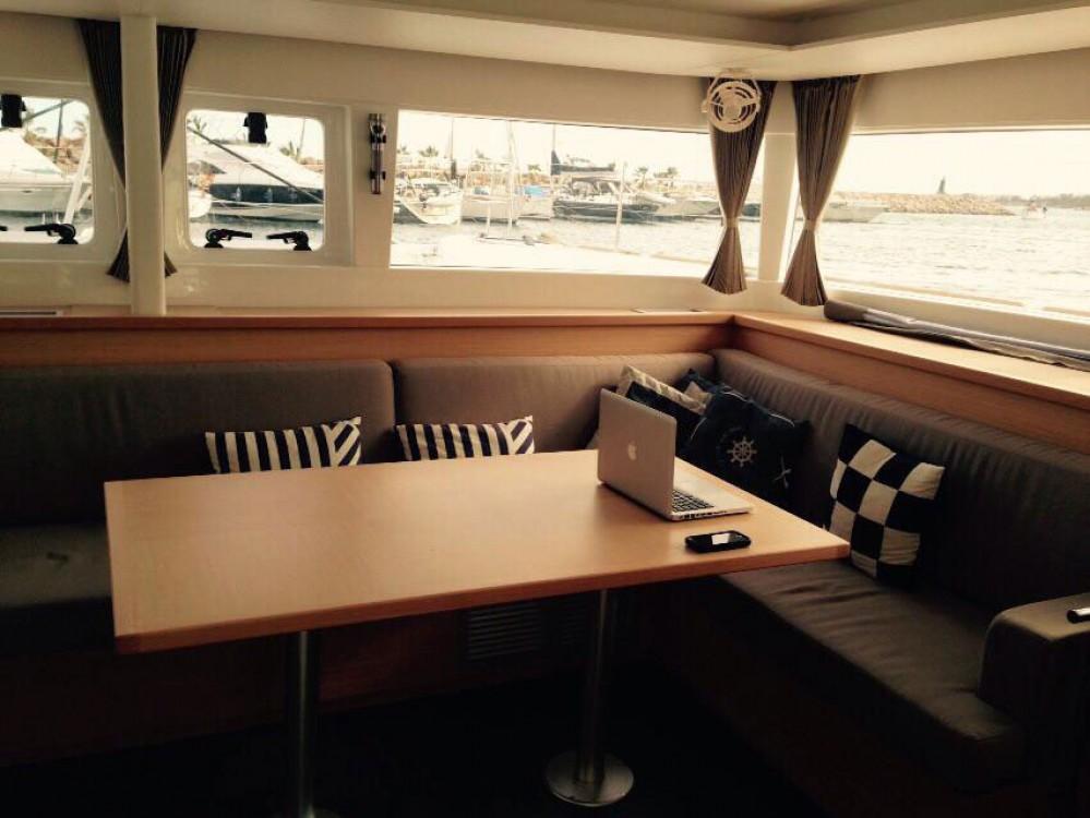 Boat rental Sant Antoni de Portmany cheap Lagoon 450  Flybridge
