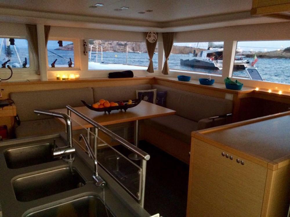 Rental Catamaran in Sant Antoni de Portmany - Lagoon Lagoon 450  Flybridge