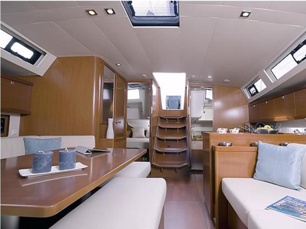 Boat rental Greece cheap Oceanis 45
