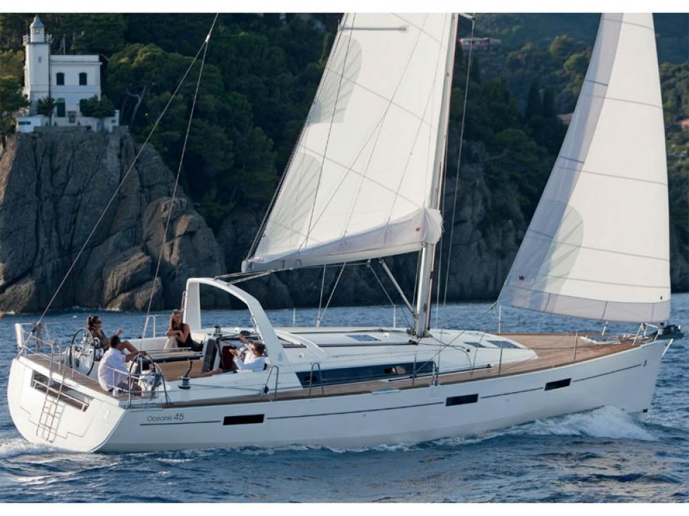 Boat rental Lefkas cheap Oceanis 45