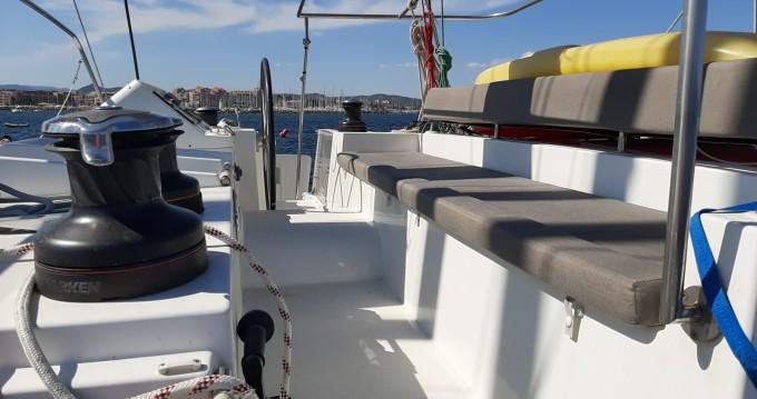 Location bateau Hyères pas cher Lagoon 450 F