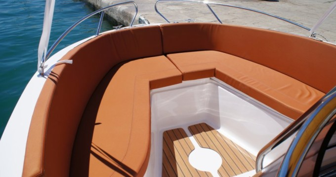 Location bateau Okiboats Barracuda 545 Open à Dubrovnik sur Samboat