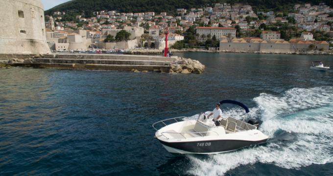 Location bateau Quicksilver Activ 675 Open à Dubrovnik sur Samboat