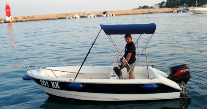 Location Bateau à moteur à Krk - fisherman Speedy 450