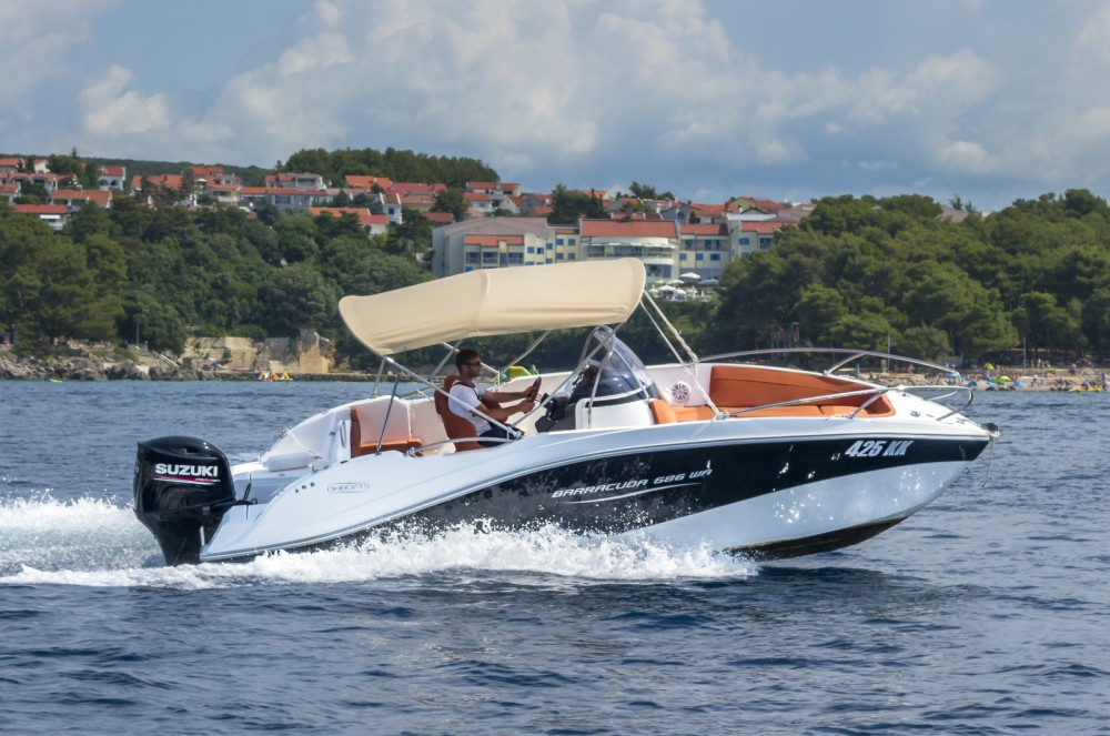 Location yacht à Krk - Okiboats Barracuda 686 WA sur SamBoat