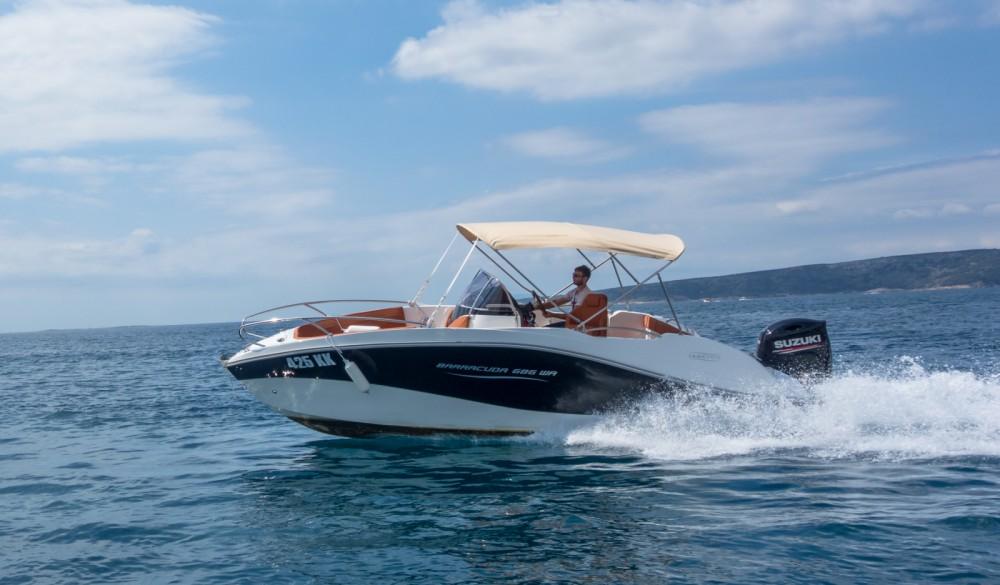 Louez un Okiboats Barracuda 686 WA à Krk