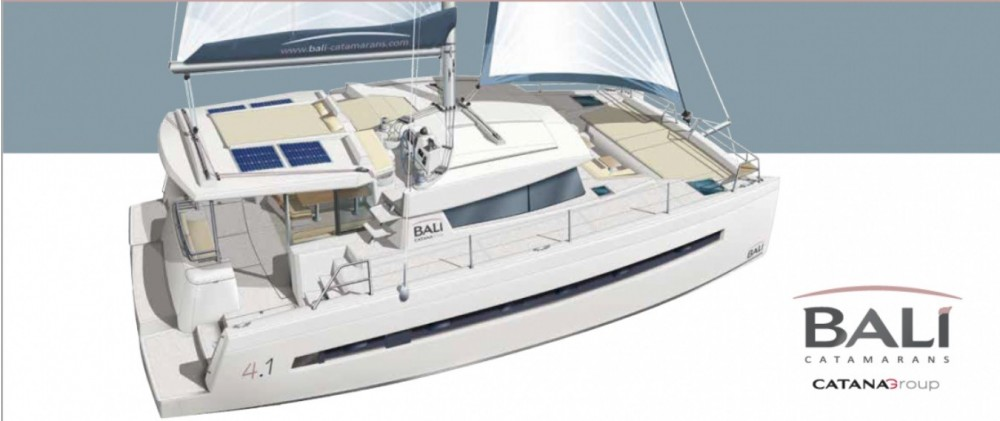Bali Catamarans Bali 4.1 Owner Version between personal and professional South Abaco