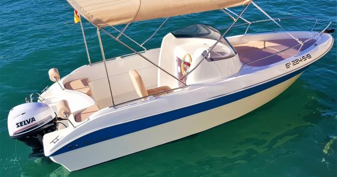 Location bateau Torrevieja pas cher Remus 550 open