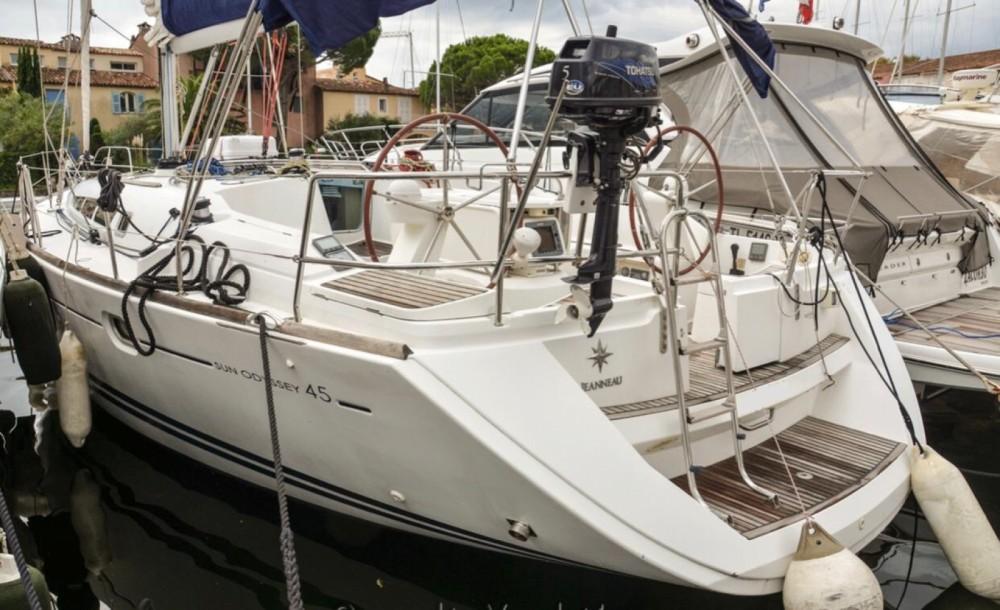 Location yacht à Cannes - Jeanneau Sun Odyssey 45 sur SamBoat