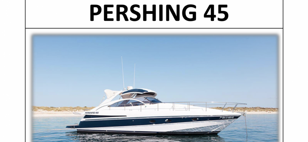 Pershing Pershing 45 entre particuliers et professionnel à Ibiza
