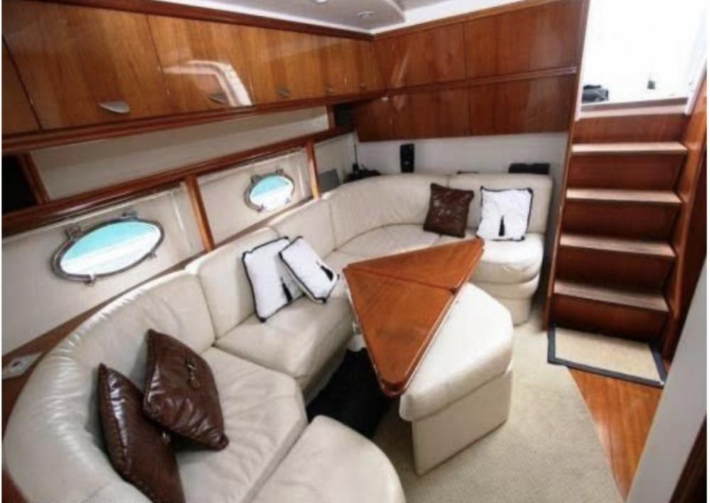 Boat rental Ibiza cheap Pershing 45