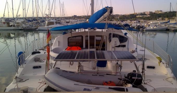 Location bateau Fountaine Pajot Lavezzi 40 à Olbia sur Samboat