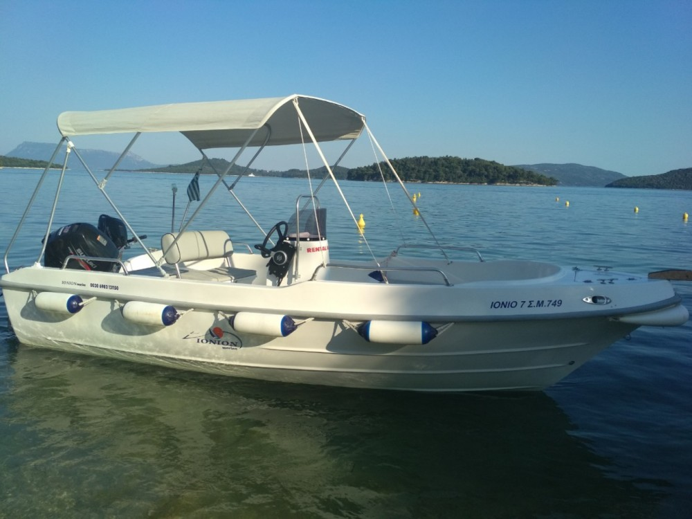 Hire Motor boat with or without skipper Assos Marine Nydri