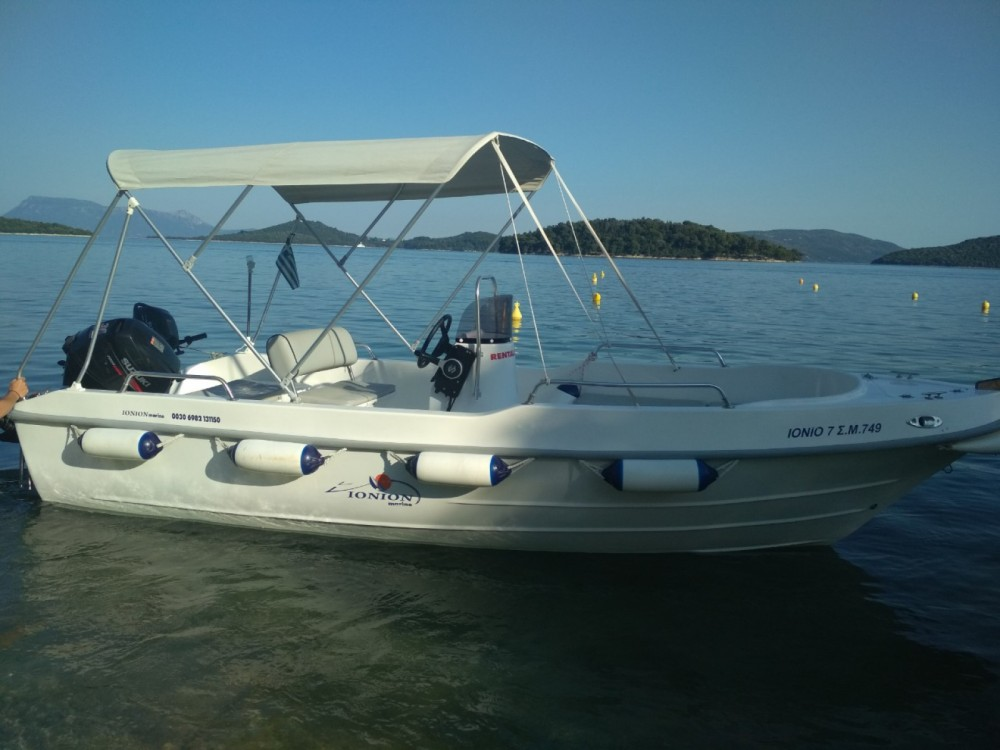 Motor boat for rent Nydri at the best price