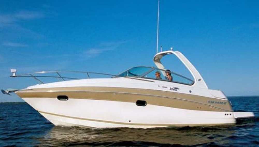 Four Winns Vista 288 between personal and professional Lavagna