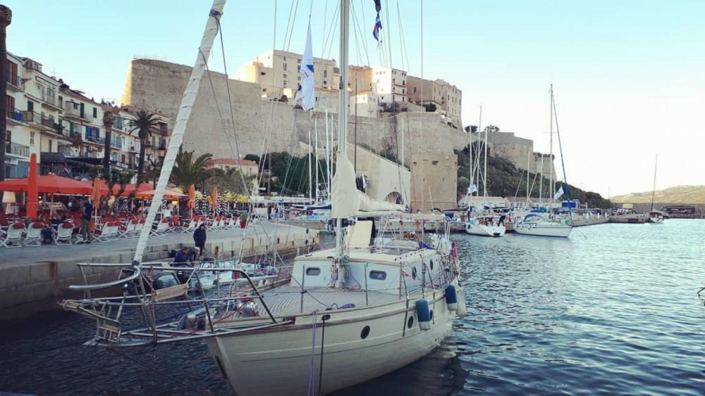 Rental Sailboat in Nice - SINO AMERICAN YACHTS LANDFALL 39