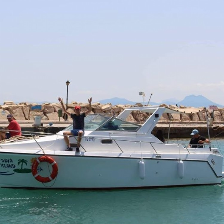 Louer Bateau à moteur avec ou sans skipper Bayliner à Sidi Bou Saïd