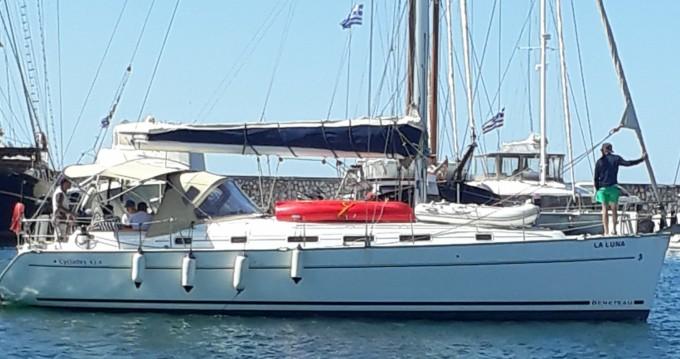 Location yacht à Le Pirée - Bénéteau Cyclades 434 sur SamBoat