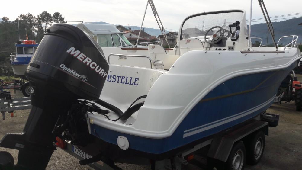 Location bateau Quicksilver Quicksilver 630 Open à Vilaboa sur Samboat