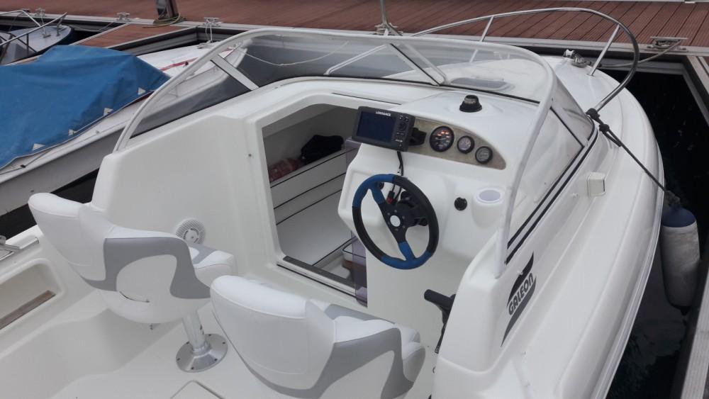 Vermietung Motorboot Galeon mit Führerschein