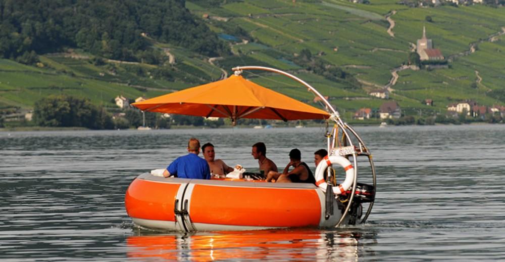 Alquiler Lancha Artthink GmbH con título de navegación