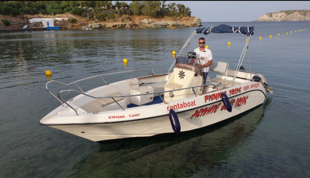 Motor boat for rent Heraklion at the best price