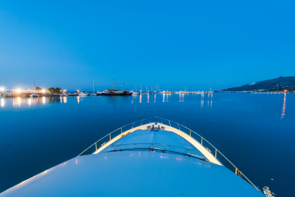 Location bateau Ferretti 2002 à Athènes sur Samboat