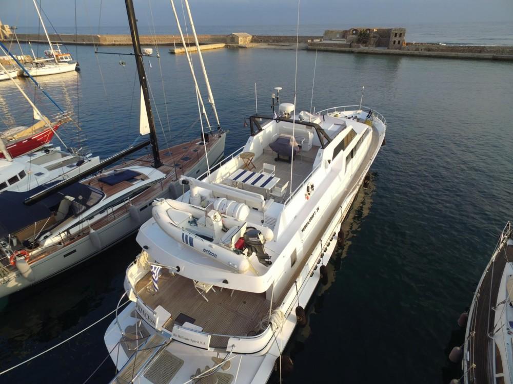 Location bateau Chania Municipality pas cher Princess 85