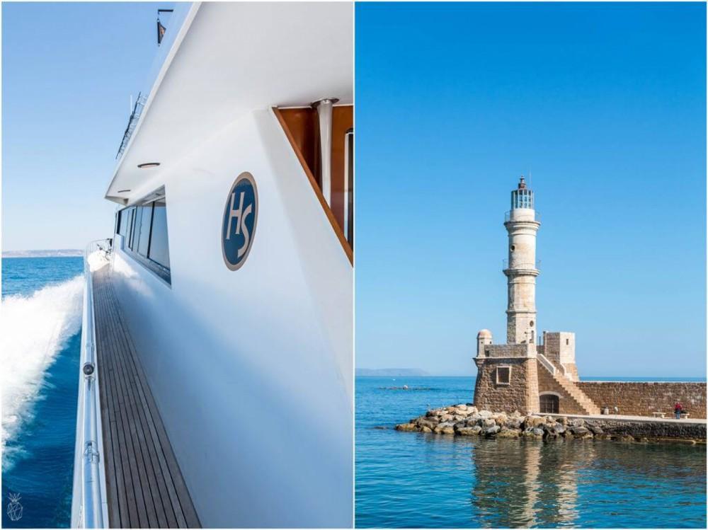 Location Yacht à Chania Municipality - Princess Princess 85