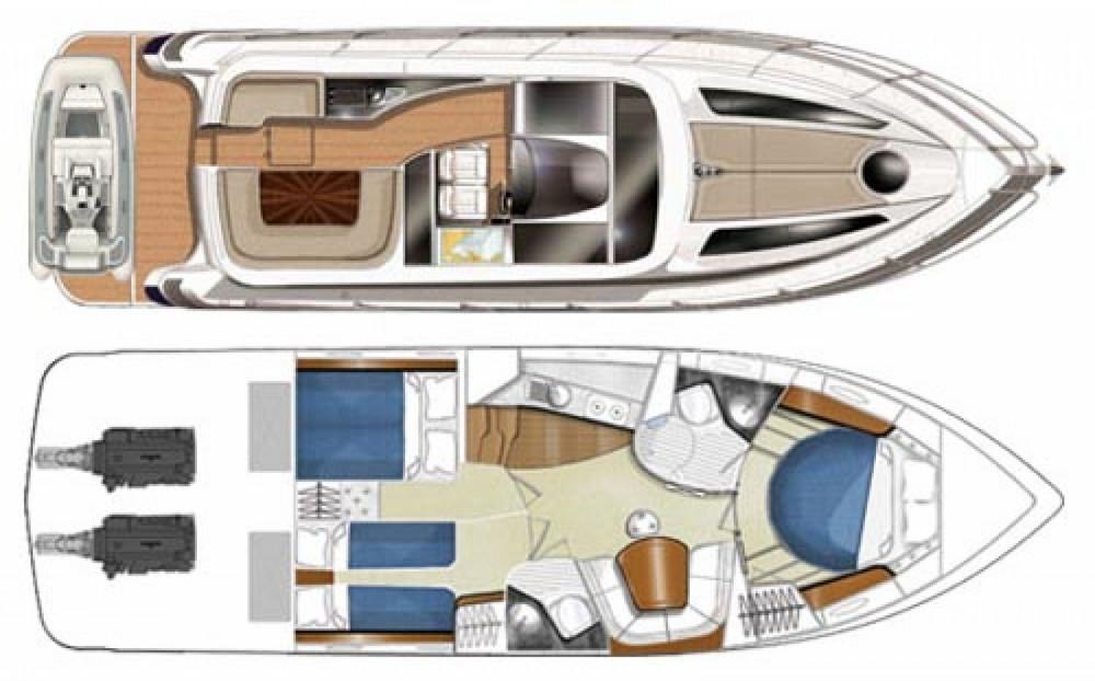 Location yacht à Sukošan - FOCUS MOTOR YACHT FOCUS Power 44 sur SamBoat