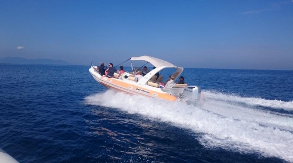 Rental RIB in Bol - Aquamax B27