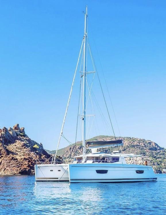 Location Catamaran Helia avec permis