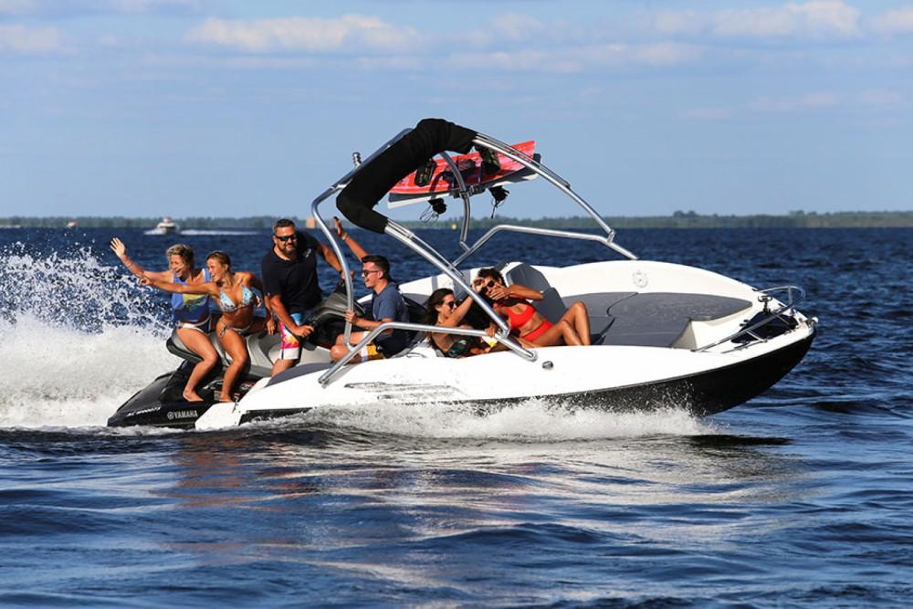 Rental Motor boat Sealver with a permit