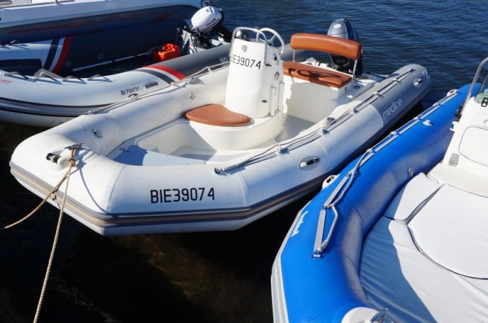 Huur Rubberboot met of zonder schipper Zodiac in Saint-Florent