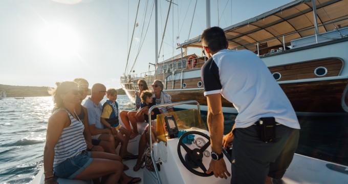 Location bateau Gulet Gulet Victoria M/S à Cannigione sur Samboat