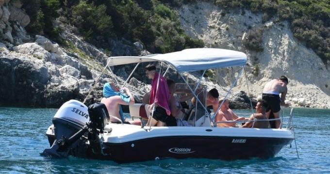 Location bateau Poseidon ranieri Soverato 5.40 à Zakynthos (Île) sur Samboat