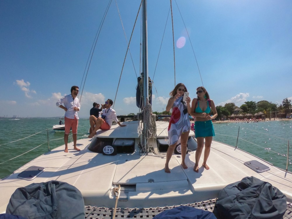 Catamaran for rent Cartagena at the best price