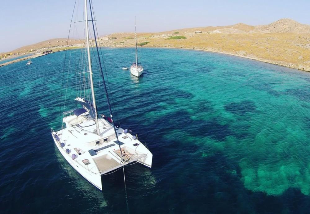 Catamaran à louer à Attique au meilleur prix