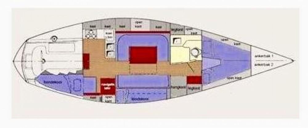 Huur Zeilboot met of zonder schipper Noray in Santa Eulària des Riu