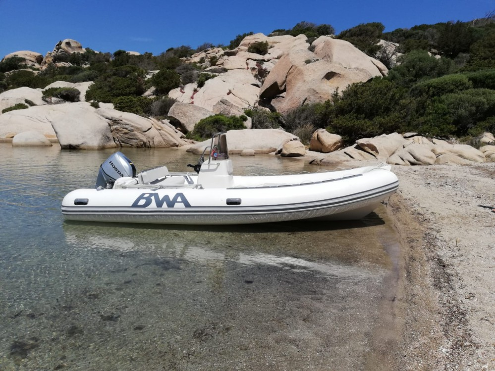 Rental RIB Bwa with a permit