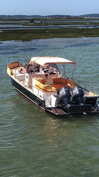 Hire Motor boat with or without skipper Beacher Arcachon