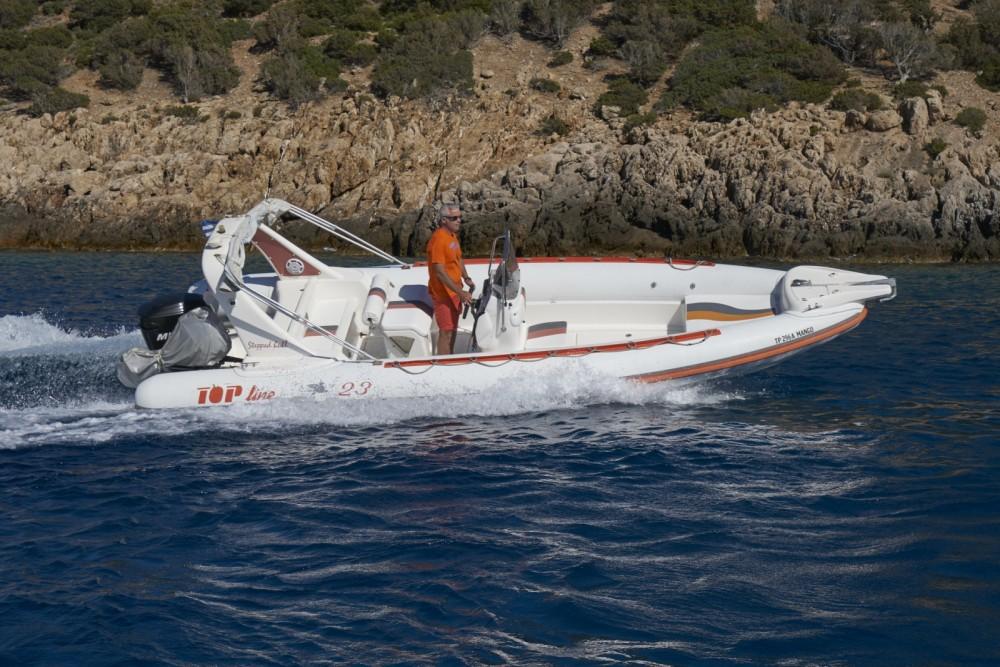 Verhuur Rubberboot in South Aegean - TopLine Pegasus 23