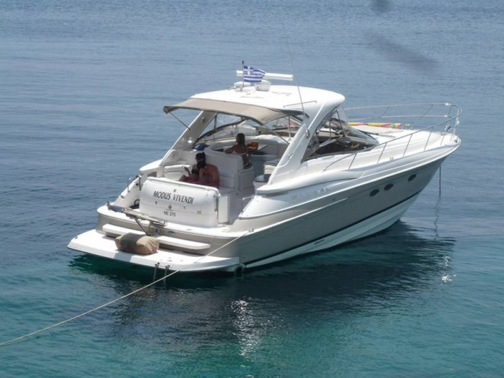Rental Motor boat Régal with a permit