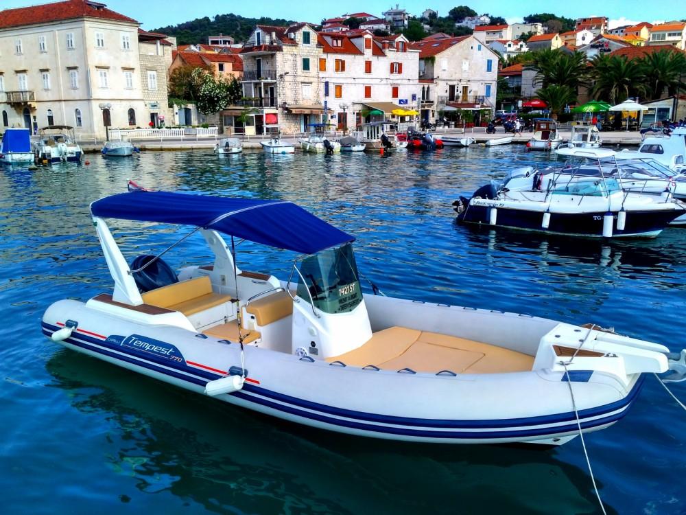 Huur Rubberboot met of zonder schipper Capelli in Trogir