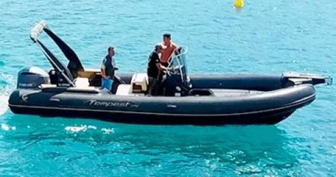 Location bateau Capelli Tempest 770 à Appietto sur Samboat